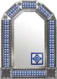 mexican tin tile mirror