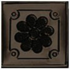punched tin tile mirror