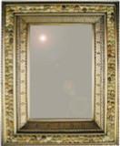 stone tin mirror