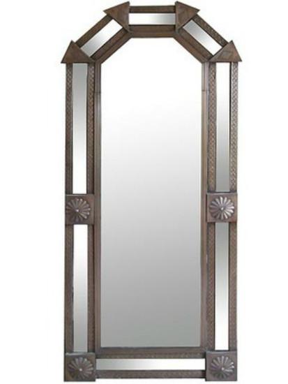 tall tin mirror