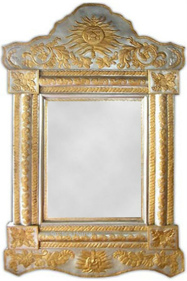 hacienda tin mirror