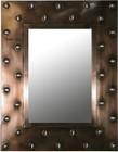 modern tin mirror