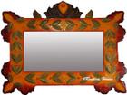 colonial tin mirror