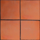 rustic red clay floor tile mexico