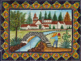 tile mural bridge