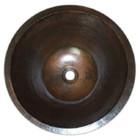 cone copper vessel sink