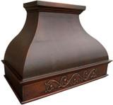 hacienda copper vent hood
