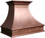 hacienda kitchen copper hood