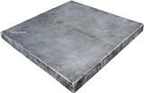 square zinc table-top