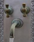 wall mount kitchen bar rustic bronze faucet