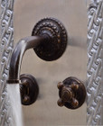 wall mount kitchen bar French bronze faucet
