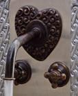 wall mount kitchen bar European bronze faucet