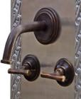 wall mount kitchen bar modern bronze faucet