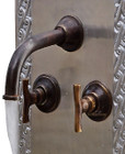 wall mount kitchen bar Spanish bronze faucet
