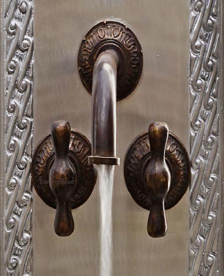 classic bar kitchen wall bronze faucet