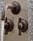 wall mount kitchen bar classic bronze faucet
