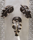 country bar kitchen wall bronze faucet