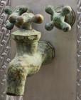 wall mount kitchen bar Italian bronze faucet