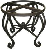 Southwestern forged iron table base