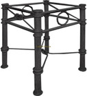 Italian forged iron table base