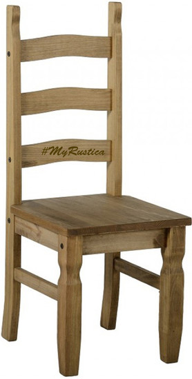 artisan made mexican wooden chair