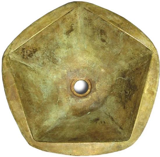 Spanish bronze bath sink