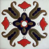 guanajuato relief tile navy blue