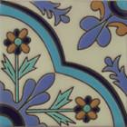 rustic relief tile brown