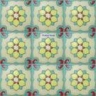 hacienda relief stair riser yellow tile