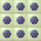 european relief stair riser blue tile
