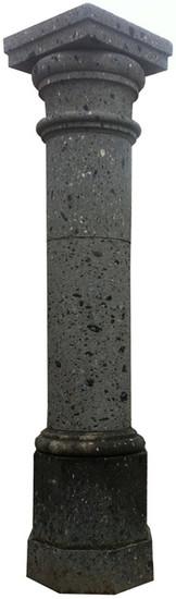 european stone column