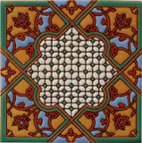 old europe relief tile green