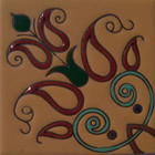 old europe relief tile terracotta