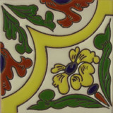 conventional relief tile yellow