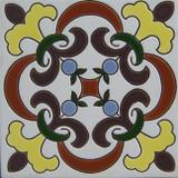 hacienda relief tile brown