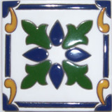 country relief tile green