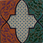 conventional relief tile terracotta