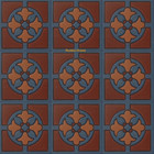 hacienda relief stair riser dark brown tile