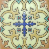country relief tile light yellow