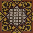 rustic relief tile black
