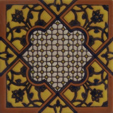 rustic relief tile black