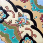 hacienda relief tile pastel green