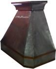 zinc range hood sale front view