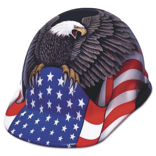 eb6bfb782a3 Fibre-Metal Spirit of America Cap with Ratchet Brim Hard Hat. Price    33.26. Image 1