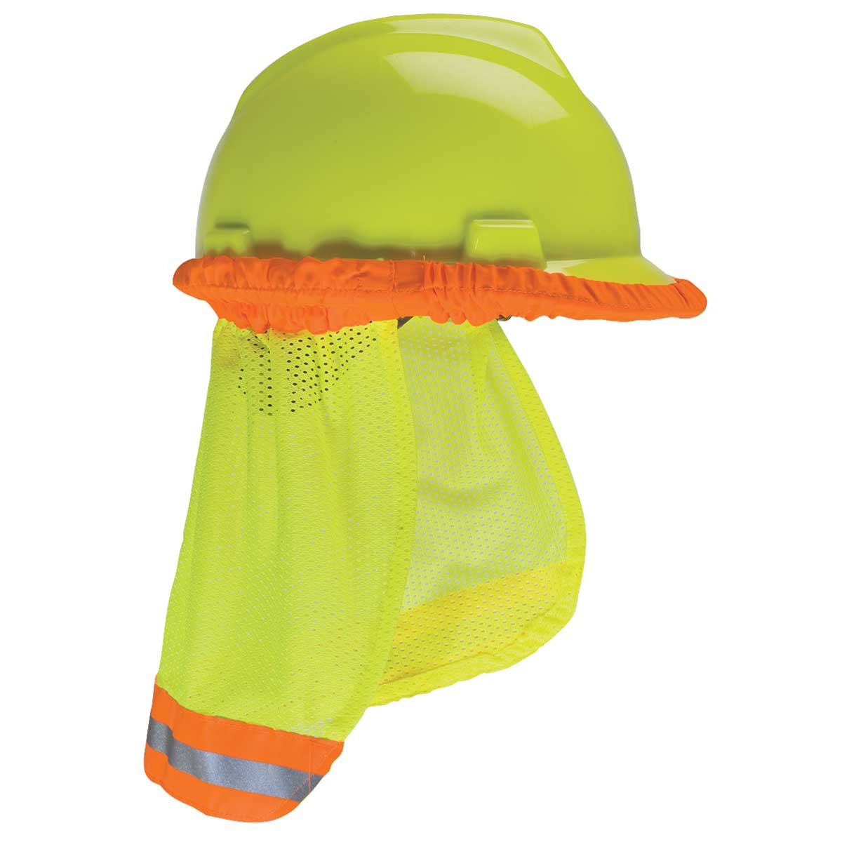 MSA Reflective Sun Shade Hard Hat Protector - Industrial Safety Products 07249d3623d