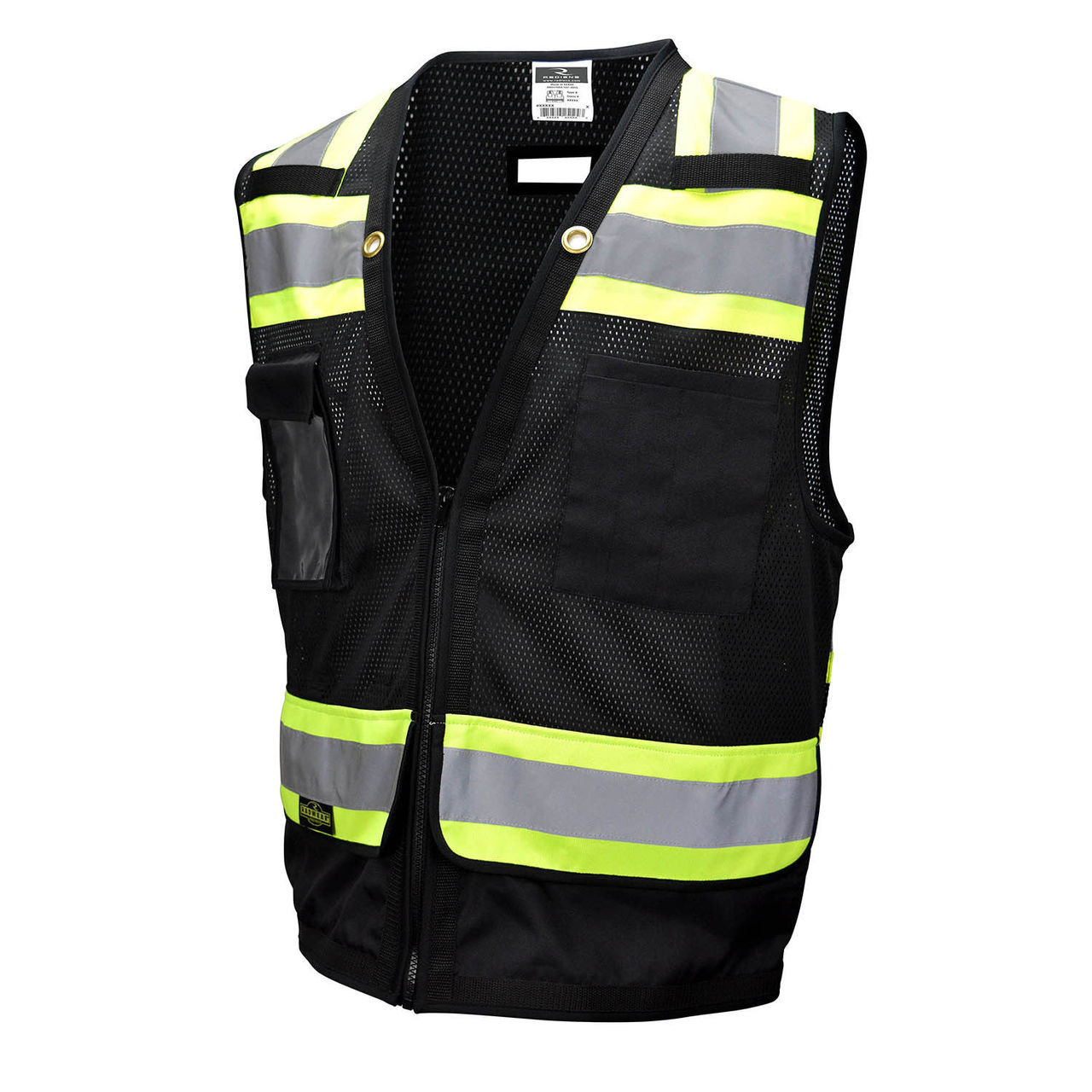 b362d5c785a Radians SV59-1ZBM Type O and Class 1 Heavy Duty Surveyor Safety Vest ...