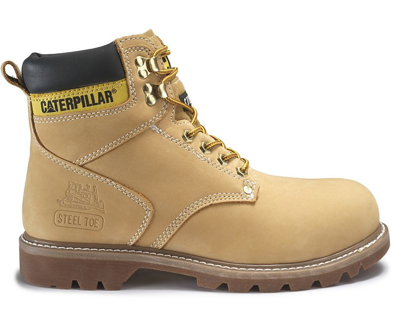 ea48183d057 Caterpillar Men's Second Shift Steel Toe Work Boot