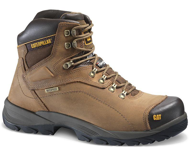 7cd85f05deb Caterpillar P89940 Men's Diagnostic Hi Waterproof Steel Toe Work Boot