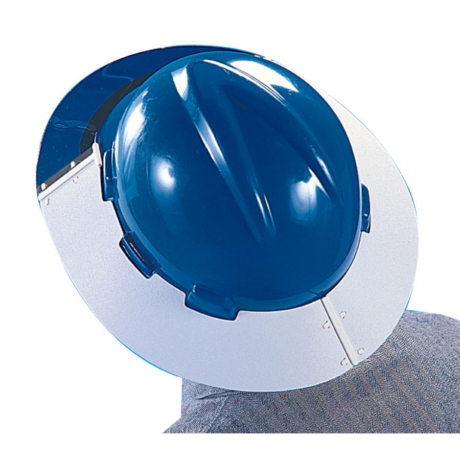 MSA 697290 V-Gard Plastic Sun Shield Visor for Cap Style Hard Hats ... 7cb2ec603bac