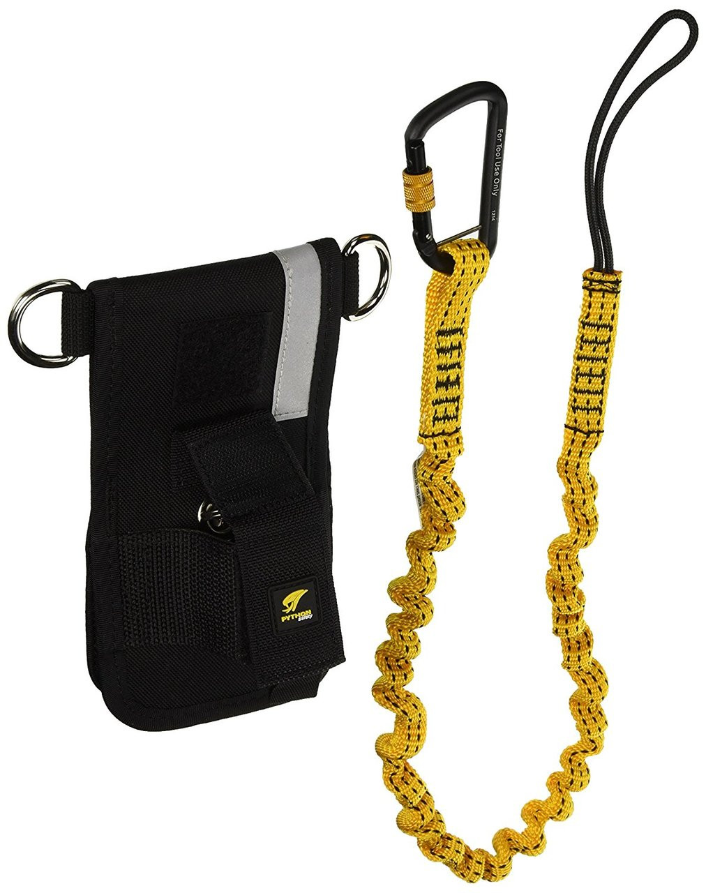 Python Safety 1500097 Wrench Holster with Retractor and Bungee Tether